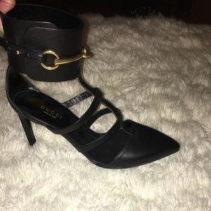 c600342d34bd Gucci Shoes - ❗️Flash Sale❗ ✨GUCCI✨ black caged heels🌴HP